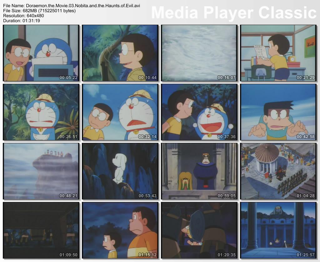 doraemon the movie 3 nobita and the haunts of evil 1982